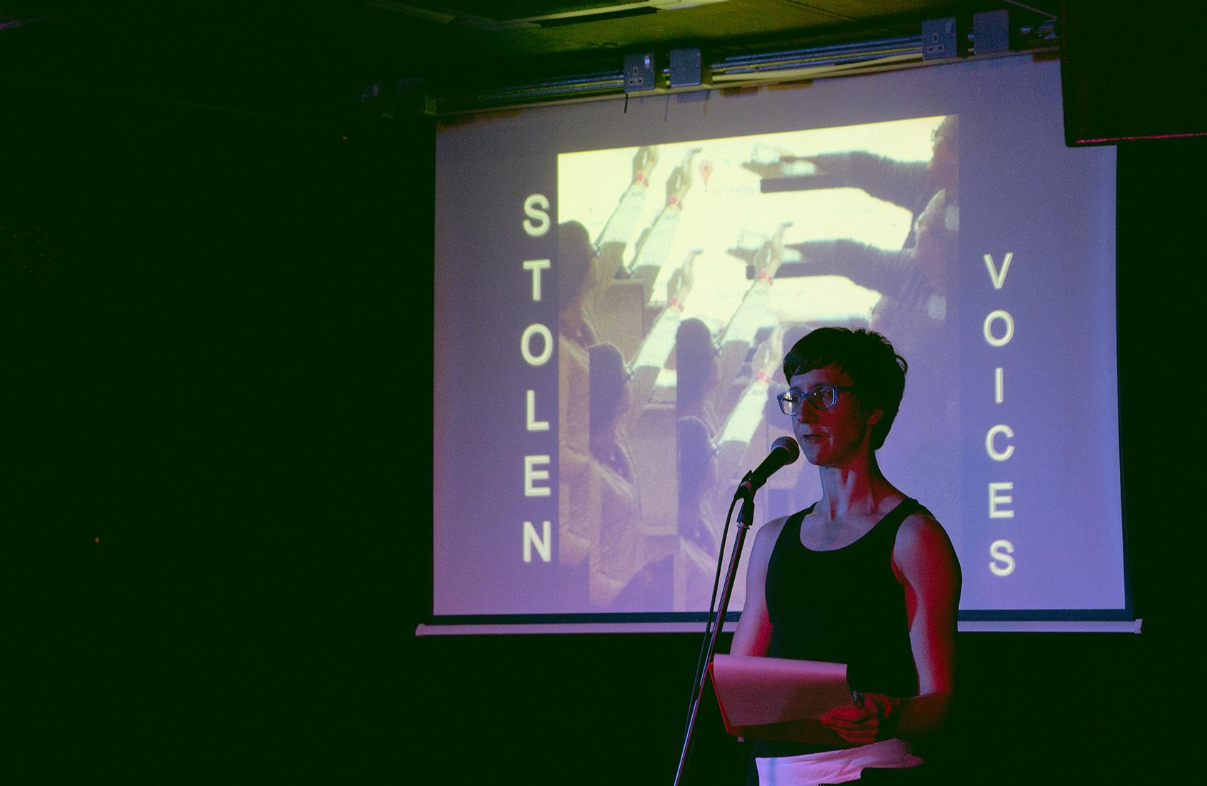 rebecca louise collins stolen voices speech