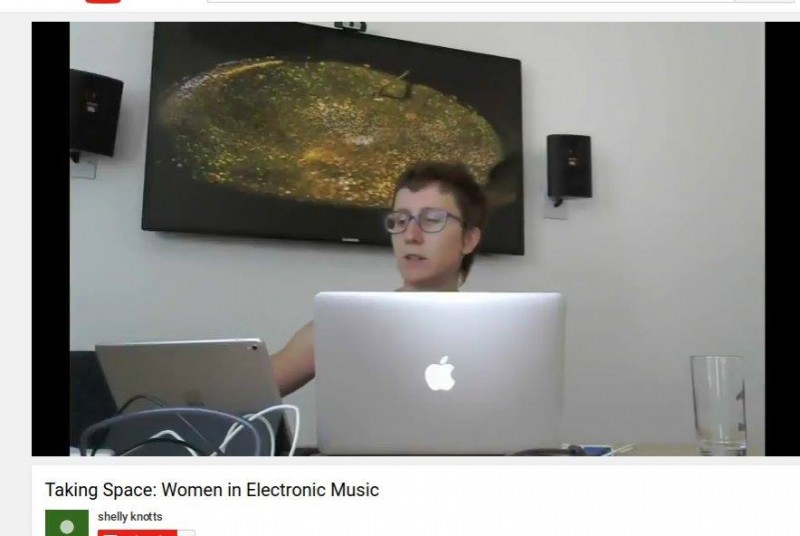 Rebecca Collins Taking Space: Women in Electronic Music, Durham University